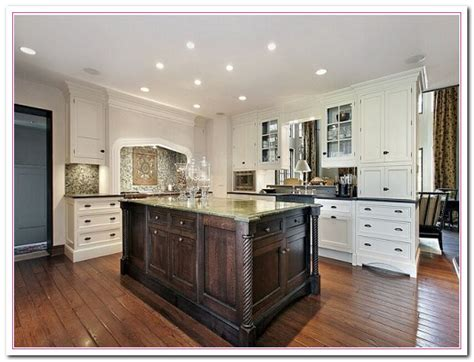 White Kitchen Design Ideas Within Two Tone Kitchens Home White Cabinets Kitchen Design