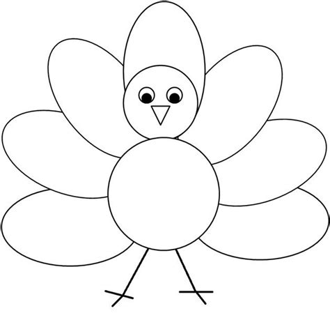 turkey waddle coloring page 97 best thanksgiving craft for kids images on pinterest