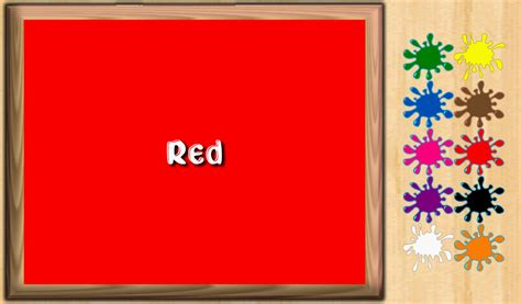 red is the color of the day children s song red colors kids learn color free android apps on google play