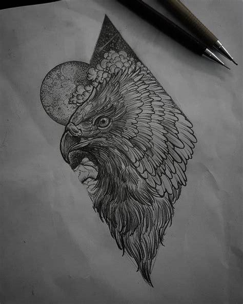 arrow tattoo by felipe kross eagle by felipe blackwork illustration