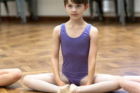 boys wearing leotards tights east oxford school of ballet