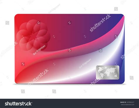 debit card background template credit debit card design template stock illustration