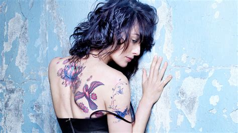 lena headey x tattoos esquire k
