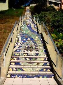 Mosaic Stairs by 16th Ave Tiled Steps Project San Francisco