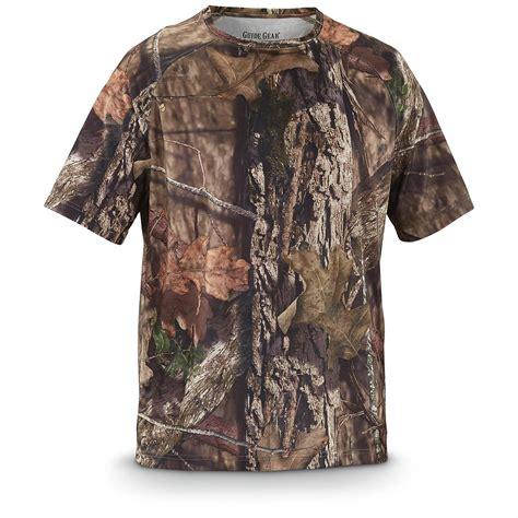 Sleeve Camo T Shirt guide gear s performance camo sleeve t