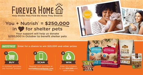 Rachael Ray Giveaway A Day - 2017 rachael ray nutrish furever home sweepstakes winzily