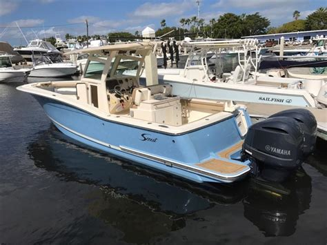 scout boats neff yacht sales used 32 foot scout boats 320 lxf center