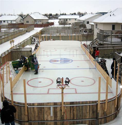 backyard ice rink blog outdoor furniture design  ideas