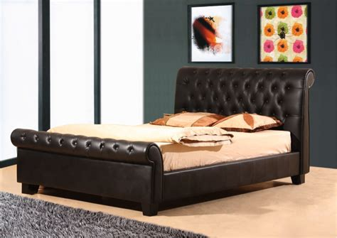 bed design images leather bedrooms designs simple home decoration