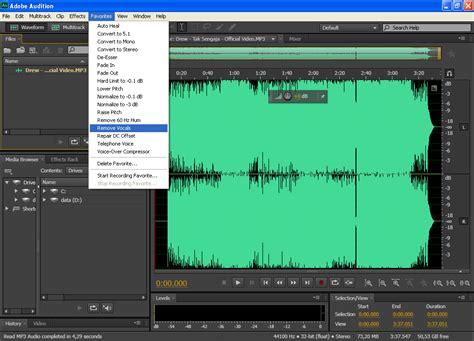 tutorial membuat video karaoke tutorial praktek membuat lagu karaoke dengan adobe audition