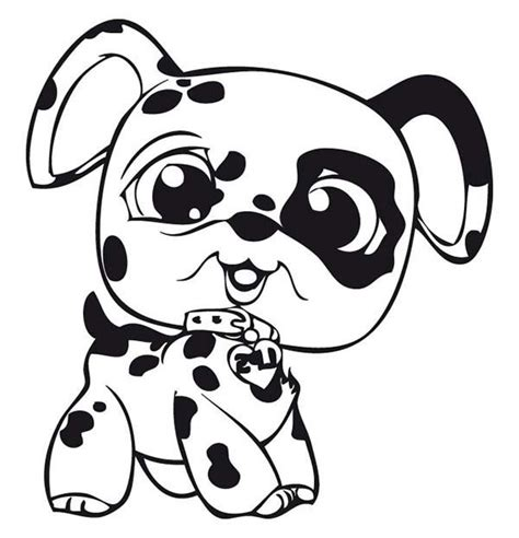 coloring pages of baby dogs little pet shop baby dalmatian dog coloring pages batch