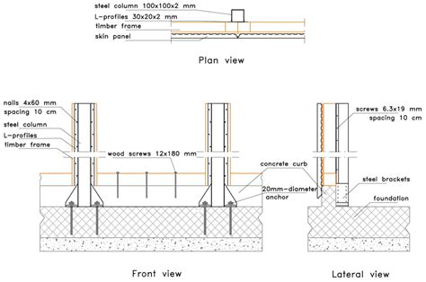 Cinder Block Garage Plans by Materials Free Full Text Light Steel Timber Frame With