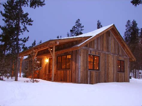 Small Rustic Mountain Cabin Plans Small Mountain Homes