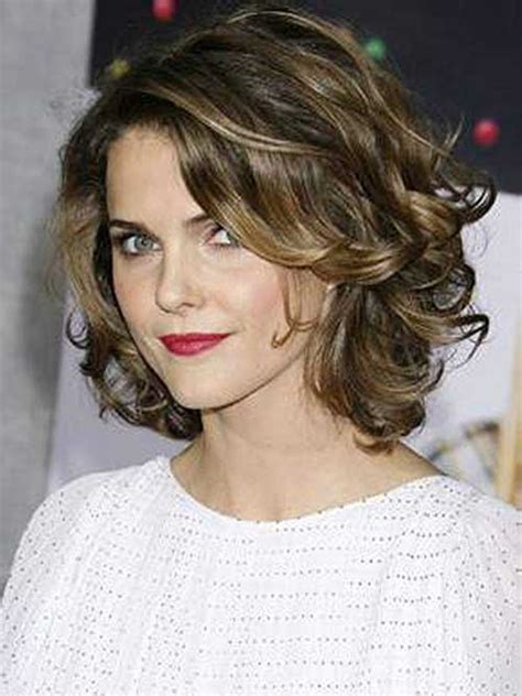 short layered hair styles with soft waves 25 short haircuts for curly wavy hair short hairstyles