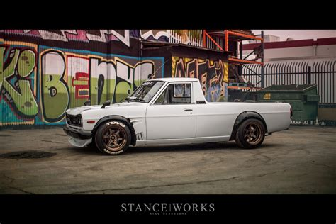 nissan pickup stance datsun truck stance www pixshark com images galleries