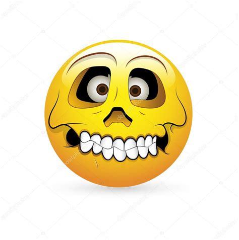 emoticon smiley face stock vector illustration of head smiley emoticons face vector skull expression stock