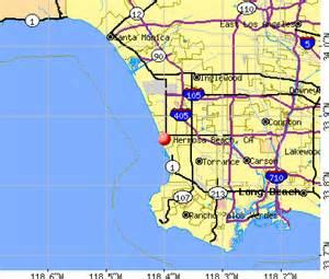 california map hermosa hermosa california ca 90254 profile population