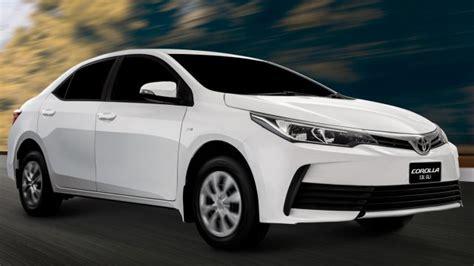 toyota gli 2020 price in pakistan a glimpse at the new facelifted toyota corolla gli