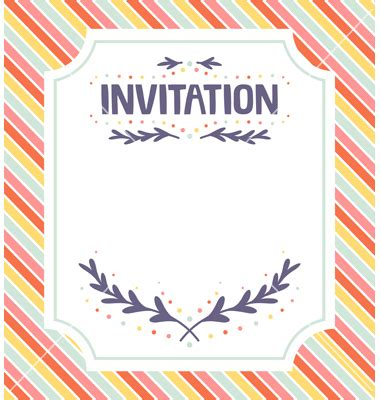 free vector invitation card template free wedding invitation card templates
