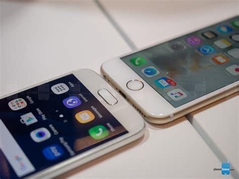 Samsung S7 Vs Iphone 6 Samsung Galaxy S7 Vs Iphone 6s Comparatie Detaliata Idevice Ro