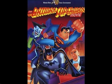 watch the batman superman movie world s finest the batman superman movie world s finest 1997 movie review youtube