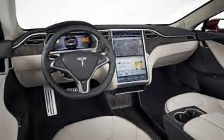tesla car model s 2012 tesla model s interior