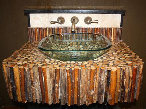 lavabos hechos  materiales reciclados