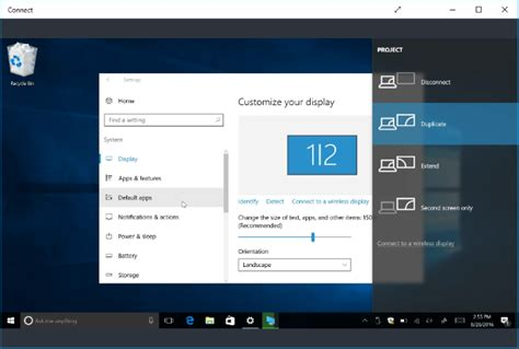 show android screen on pc how to cast your windows or android display to a windows 10 pc
