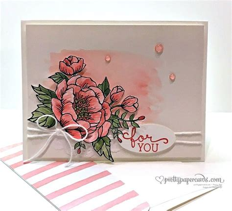 Pink Handmade Cards - 69 best cards birthday blooms images on