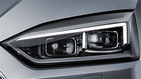 audi headlights in 2017 audi a5 coupe headlights revealed