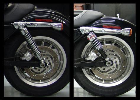 Harley Davidson Sportster Tieferlegen by Burly Slammer Shocks Harley Sportster Xl Tc Bros