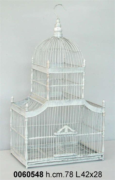 gabbie per uccelli decorative antica soffitta gabbia per uccelli decorativa 40cm shabby