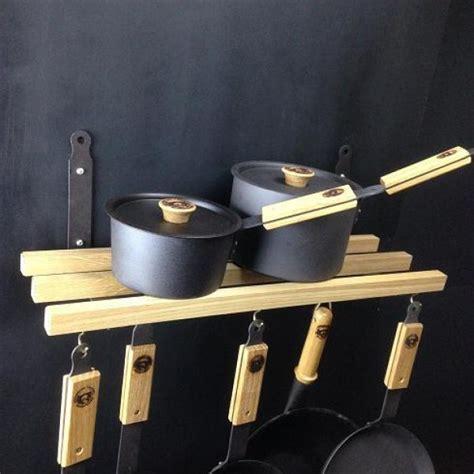 Hanging Pans On Wall Wall Mounted Hanging Pan Rack