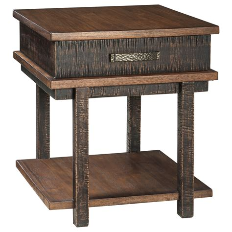 ashley furniture accent tables ashley signature design stanah rectangular end table with