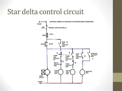 wiring diagram of delta starter wiring