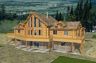 log home floor plans with basement superb log house plans 9 log cabin home plans with