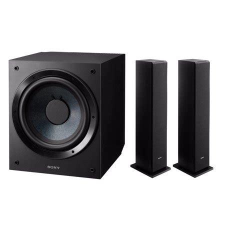 10 floor standing speakers sony sscs3 floor standing speaker 2 units sony 10 inch