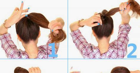 hairstyles for school in 1 minute 2 minute bubble bun hairstyle tutorial fashion is my