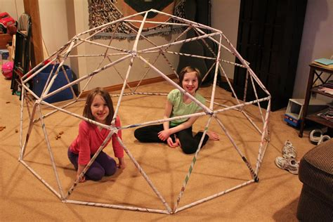 How To Make A Paper Dome Step By Step - how to build a geodesic dome in 20 not so easy steps