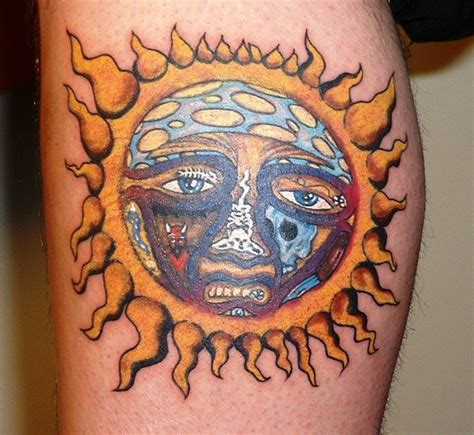 sublime sun tattoo inked pinterest sun the shape