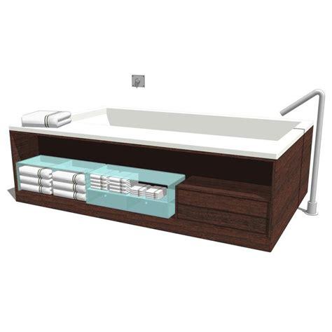 boffi swim bathtub 3d model formfonts 3d models textures