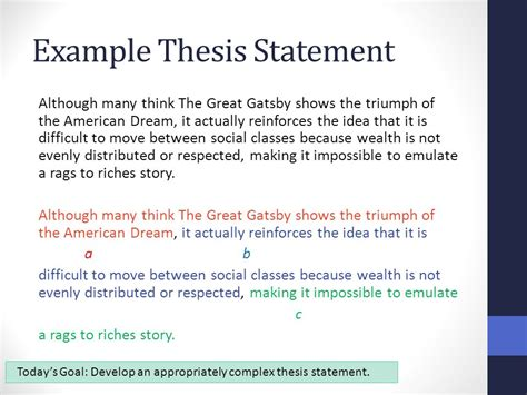 theme thesis exles synthesis essay thesis statements benchmark ppt video