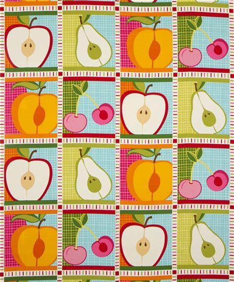 Patchwork Fabric Usa - white patchwork fruit fabric by robert kaufman usa food