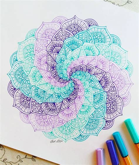 doodle paint best 25 mandalas ideas on mandala