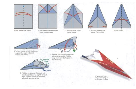 Paper Airplanes For - delta dart jpg 2522 215 1658 paper planes