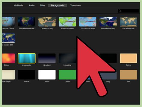 imovie slideshow templates how to create credits in imovie 11 steps with pictures