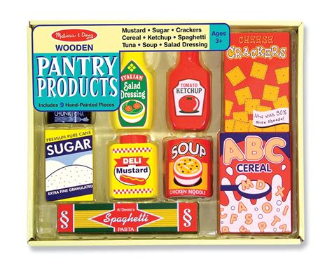 doug wooden pantry products play