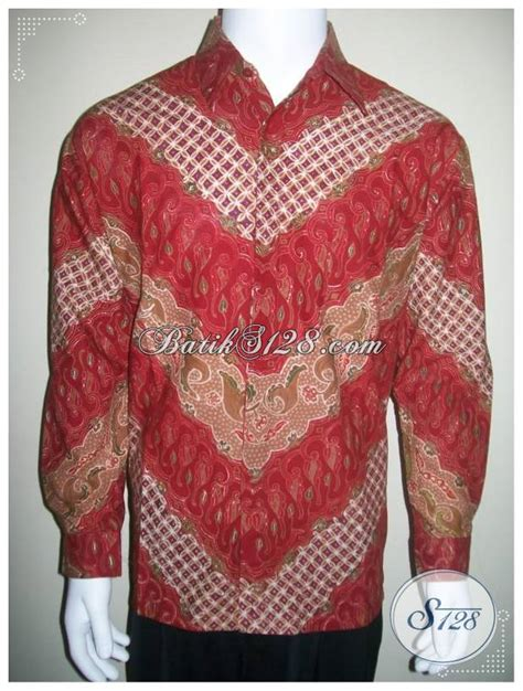 Kemeja Exsekutif Kemeja Batik Lengan Panjang Pria Eksklusif Elegan Untuk
