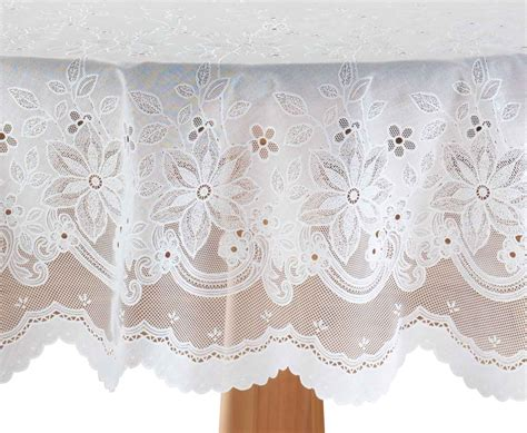 vinyl lace tablecloth by miles kimball ebay