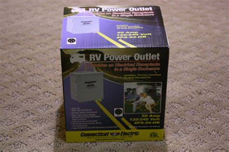 rv accessories new rv power outlet ps 54 hr for sale rv